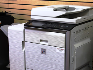 Rapid Refill printer and copier machine