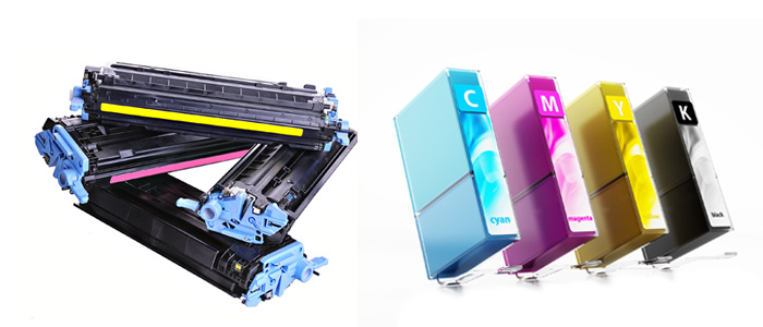 refilled ink and toner cartridges