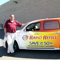 Rapid Refill free delivery vehicle