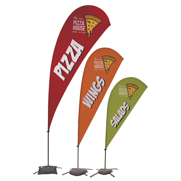 promotional business flags